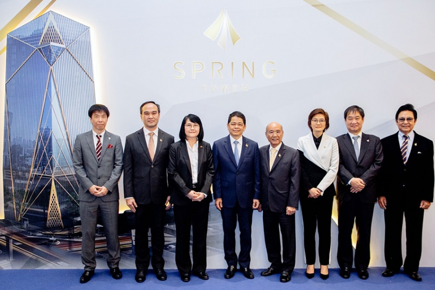 Grand Opening อาคาร Spring Tower
